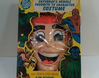 Ben Cooper Archie Halloween Costume in Original Box, 1969