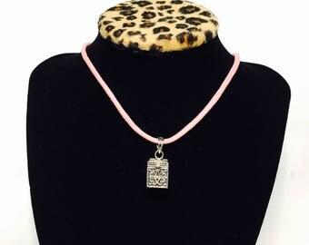 Vintage wish box necklace Etsy