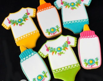 Fiesta Baby Sugar Cookies (Set of Six)