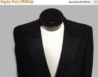 Super Sale SALE Vintage Mens Tux Tuxedo Jacket 1950s 1960s Black by Lordwest  for Baltimore Tuxedo 41R