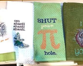 Create your own design towel