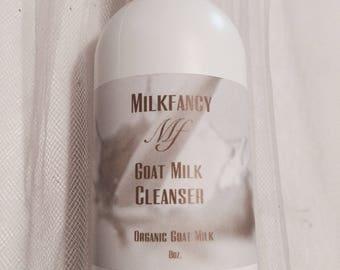 Goat Milk Organic Face Cleanser, Creamy Cleanser, Goat Milk