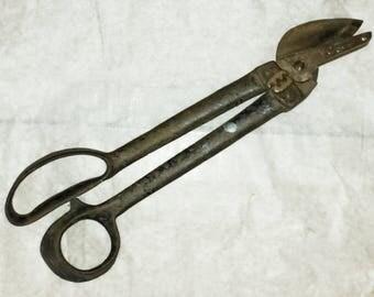 Sheet Metal Tin Snips Crimper PEXTO 2A