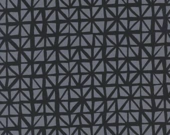 PRESALE - Lil' Monsters - Shattered in Charcoal - Cotton + Steel - 5132-02 - 1/2 Yard