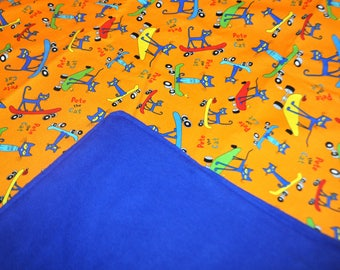 Weighted Blanket, Sensory weighted Blanket, Pete the Cat weighted blanket, Sensory calming blanket, Kids weighted blanket, Autism blanket