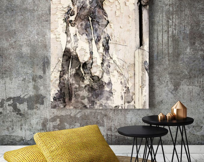 "Ranger Horse. Extra Large Horse, Unique Horse Wall Decor, Brown Rustic Horse, Large Contemporary Canvas Art Print up to 72"" by Irena Orlov"