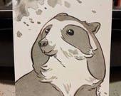 InktoBEAR: Spectacled Bear
