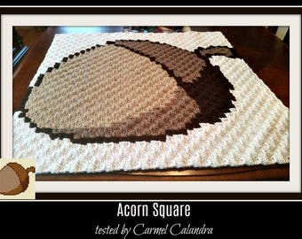 Acorn Square, C2C Graph,  Written Word Chart