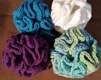 Cotton Crochet Loofah