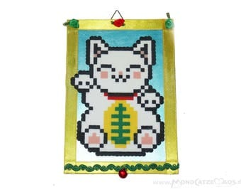 Pixel picture LUCKY CAT