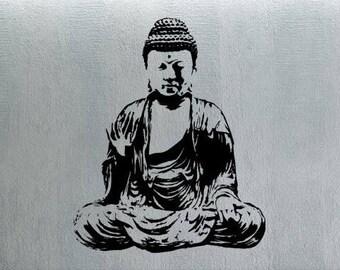 Buddha Wall Decals Vinyl Decor Art Bedroom Sticker A306