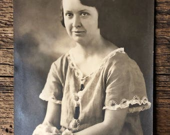 Original Antique Photograph | Young Matilde