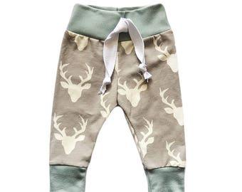 Buck Joggers, Baby Jogger Pants, Baby Boy Leggings, Baby Leggings, Baby Pants, Toddler Leggings