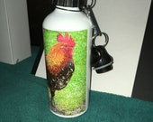 Banty Rooster Water Bottle - Aluminum - 20 Oz