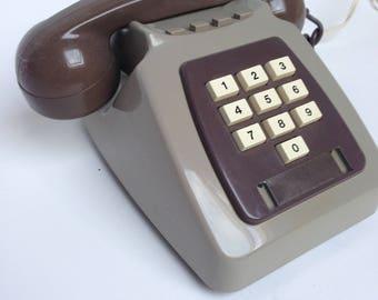 Vintage british telephone ex BT 1981
