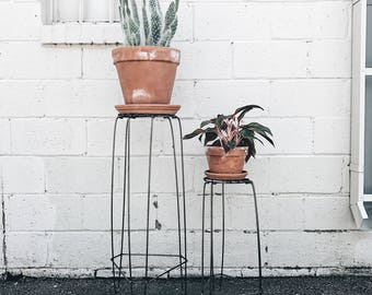 Hairpin Wire Plant Stand- Choose your height