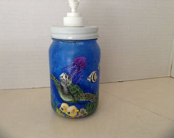 Sea Turtle handsoap / lotion dispenser