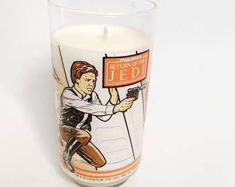 Han Solo Star Wars Return of the Jedi 1983 Dragon's Blood scented Soy Candle