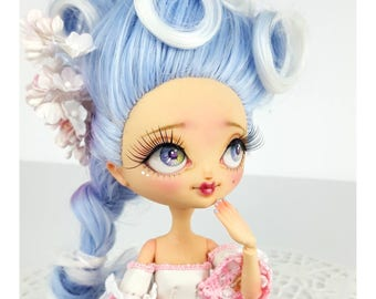 "Deluxe Custom KuuKuu Harijuku doll ""Toula"" by Skeriosities"