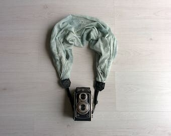 Scarf camera strap Camera scarf strap Fabric camera strap Scarf camera strap DSRL camera strap Photographer accessories Camera accessories