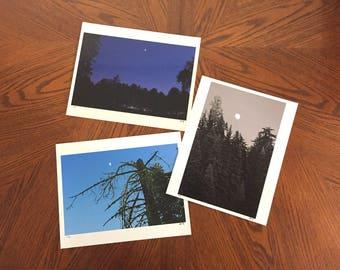 Moonscape photographic print