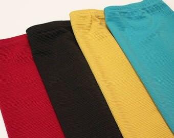 "Girls ""PREMIUM"" Modest Pencil Skirt Knit Collection ~ Modest Skirt, Girls Skirt, Knit Skirts, Modest Clothing ~ Made to order"