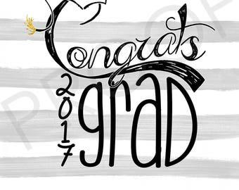 Graduation Card -  5x7 folded greeting card on press paper (envelope included) ~ Graduate, Graduation