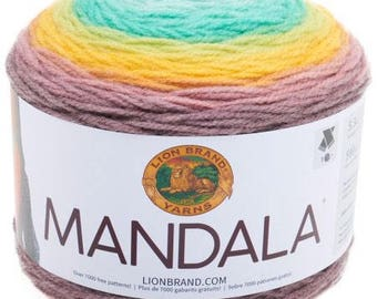 Lion brand mandala