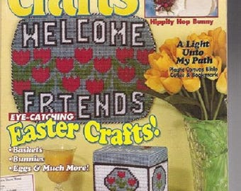 Seven vintage Quick 'N Easy Craft Magazines 1995-1998