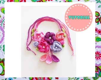 Victoria Necklace Crochet Pattern