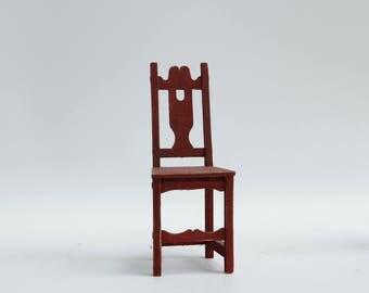 Wooden chair 1:12