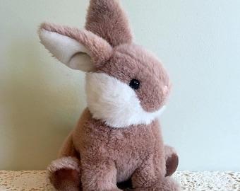 """Save 15% OFF GUND Brambles Bunny/GUND 11"""" Rabbit/Gund Bunny Rabbit/Brambles Bunny/80's Bunny Plush/Easter Bunny Toy/Excellent Cond/Freshly C"""