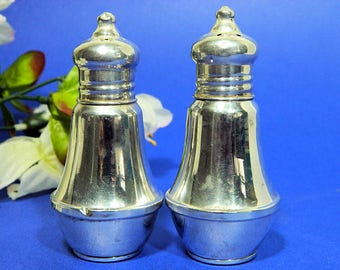 A Pair of Duchin Creations Sterling Silver Salt and Pepper Shakers