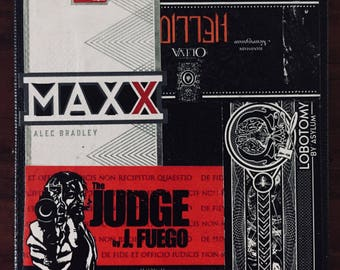 2017 Cigar Band Collage Coaster: Hellion Maxx Judge Lobotomy
