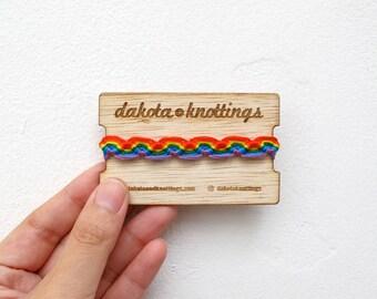 Friendship Bracelet, Rainbow Bracelet, Gay Pride, LGBT Pride, LGBT Gifts, Lesbian Gift, Pride Bracelet, LGBT Bracelet, Gay Pride Bracelets