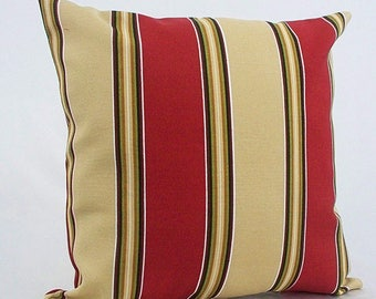 outdoor red and tan throw pillows outdoor red striped cushions outdoor red throw pillow