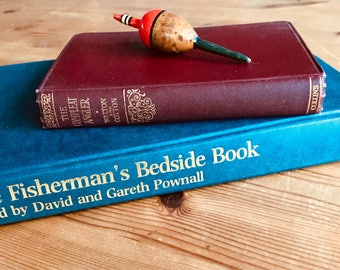 Fine Reads For Anglers. The Compleat Angler And The Fisherman's Bedside Book.