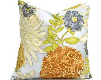 Pillow Covers ANY SIZE Decorative Pillow Cover Gold Pillow Richloom St Moritz Mineral