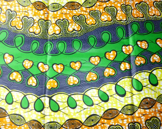 African Fabrics Java Wax Print Cotton Fabrics For Dress &Craft Making Sewing Fabric/Kitenge/Pagnes/Kikwembe /Chitenge Sold By Yard