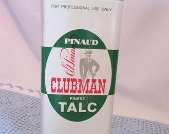 Vintage box powder Pinaud Clubman / Vintage Box Pinaud Clubman powders