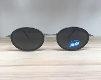 Black Hobie Tonga oval vintage polarized sunglasses