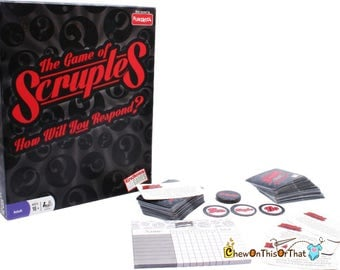 The Game of Scruples, How Will You Respond Board Game, Family Game Night, Drinking Games, Dinner Parties, Camping Trips, Everybody Raymond