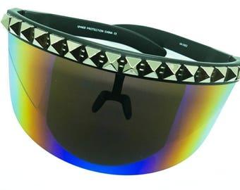 Custom Rainbow Visor
