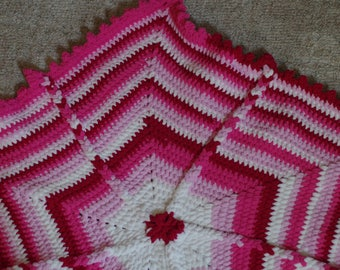 Star Baby Blanket-Pink