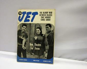 Vintage Jet Magazine 1960's