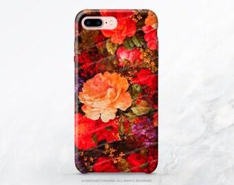 iPhone 7 Case Vintage Floral iPhone 7 Plus Case iPhone SE Case iPhone 6 Case Tough iPhone 7 Case Samsung S8 Plus Case Galaxy S8 Case V28