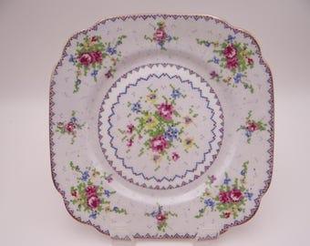 "Vintage Royal Albert English Bone China ""Petit Point"" Salad Plate"