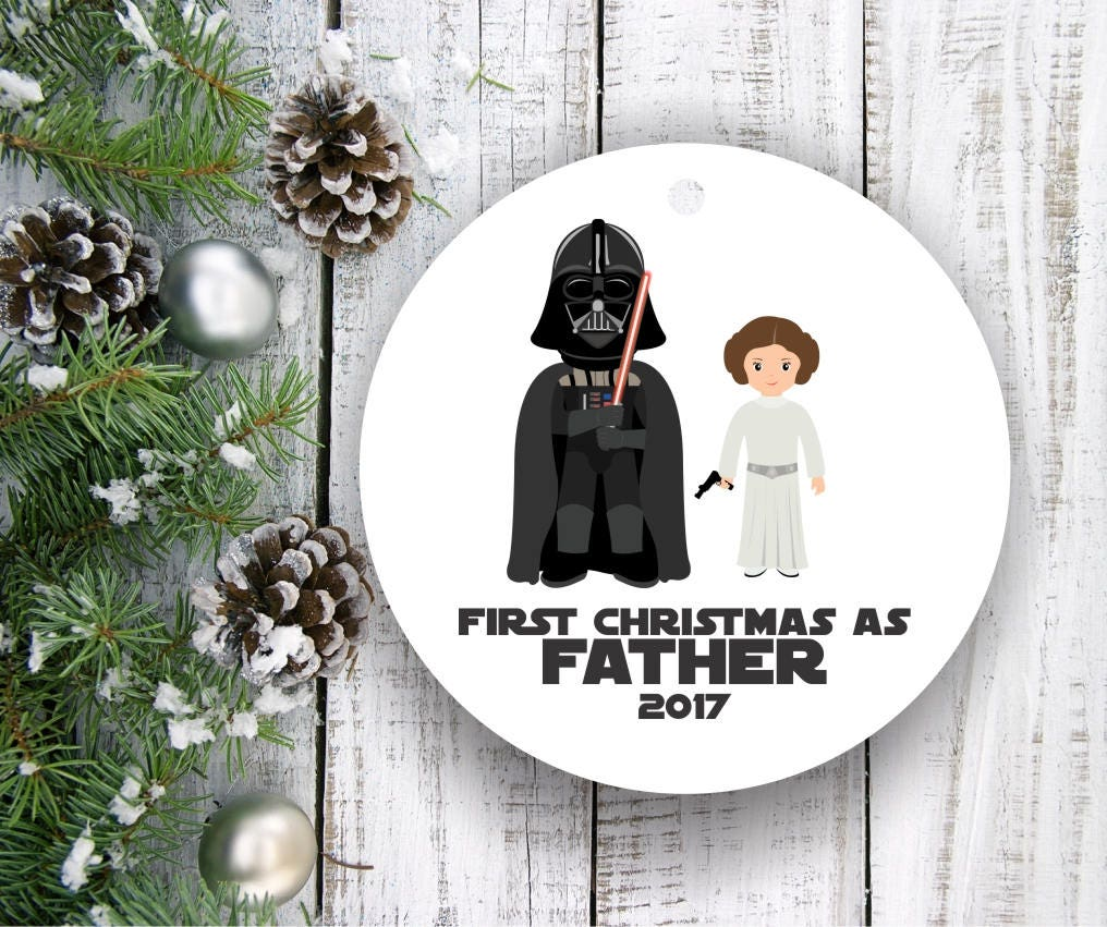 New Dad Ornament New Dad Gift New Daddy Gift New Parents