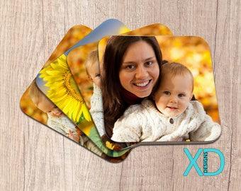 Custom Coasters, Photo Coasters, Personalized Coasters, Home Decor, Custom Decor, Custom Present, Cork Back or Hard Back, Coaster Set