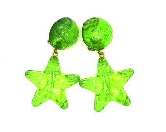 Non pierced ears starfish earrings, a lovely gift-for-her jewelry.